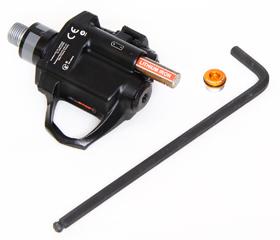 パワータップのパワーメーター、P1ペダル SINGLEは電池交換も簡単