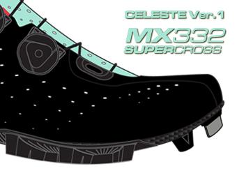 LAKE ビンディングシューズ サイクリングシューズ マウンテンシューズ MX332 スーパークロス チェレステ Version 1へ