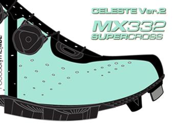 LAKE ビンディングシューズ サイクリングシューズ マウンテンシューズ MX332 スーパークロス チェレステ Version 2へ