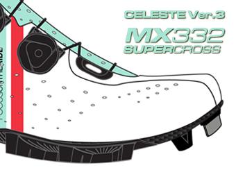 LAKE ビンディングシューズ サイクリングシューズ マウンテンシューズ MX332 スーパークロス チェレステ Version 3へ