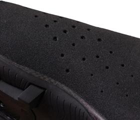 マウンテンシューズ、シクロクロスシューズのLAKE MX237 スーパークロスのアッパーは本革『ヘルカー(Helcor)』を使用。MTBシューズ、サイクリングシューズの老舗ブランド『LAKE』。